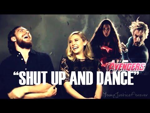 ✔ Aaron Taylor-Johnson HUMOR ll 【Shut Up and Dance】