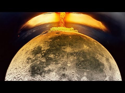 Что будет, если на луну упадёт метеорит?