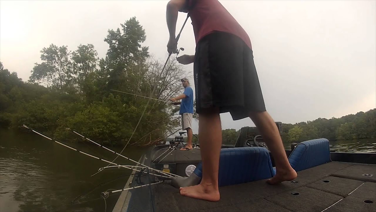 Summer bassin on mtn island lake youtube for Fishing license for disabled person
