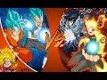Goku & Vegeta vs Naruto & Sasuke [THE RAP BATTLE] Extended + Remastered REACTION!!!