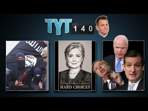 Troops to Iraq, Iran Deal, Hillary Book & Duck Dynasty Candidate | TYT140 (June 17, 2014)