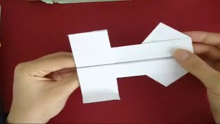 How To Make Origami Ace Flier (paper Airplane)