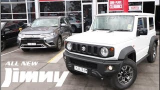 All new SUZUKI JIMNY first drive and thoughts - Throttle Downunder