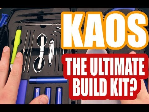 The Ultimate Coil Build Tool Kit? Kaos Coil Building Tool Kit Breakdown & Review