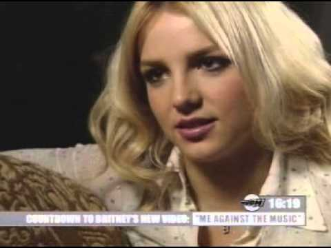 Britney Spears - Me Against The Music Special video