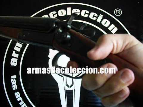 Escopeta recortada de dos cañones