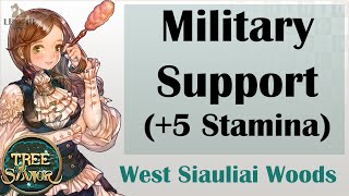 [ TREE OF SAVIOR ] Quest Guide | West Siauliai Woods (Level 93) : Military Support (+5 Stamina)