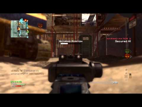MW3: 66 Kill Blue MP7 Gameplay + MW3 Multiplayer Review!
