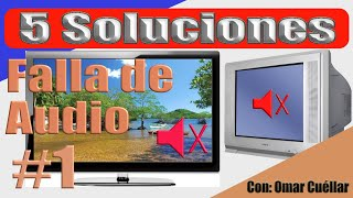 Soluciones a fallas de audio en TV