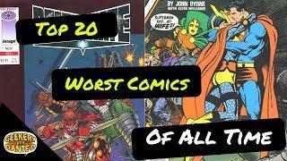Top 20 Worst Comic Books