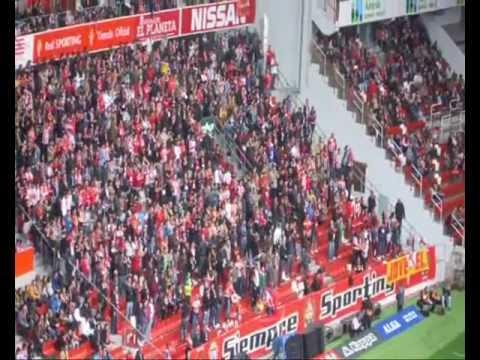 Partido del Sporting contra el Rayo en la jornada 35 de la primera división española.