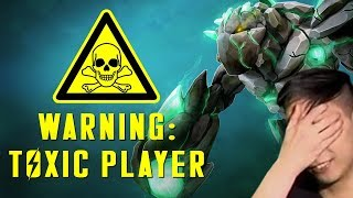 WARNING: TOXIC PLAYER (SingSing Dota 2 Highlights #1286)
