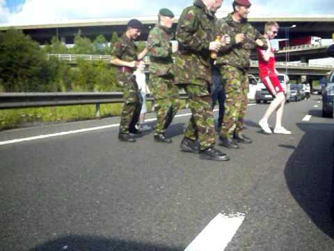 M25 Cha Cha Slide (army style)