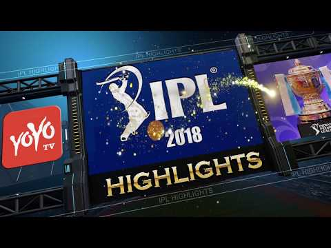 IPL 2018 RCB VS MI Match Highlights | Rohit Sharma Vs Virat Kohli Batting | YOYO TV Channel