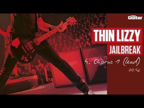 Guitar Lesson: Thin Lizzy 'Jailbreak' -- Part Four -- Chorus 1 (Lead) (TG217)