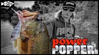 Tips for Fishing Poppers for Springtime Bass