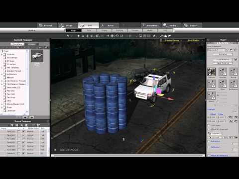 iClone5 Quick Fix Tutorial – Rigid Body Physics