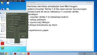 Counter Strike Hamachili Server Kurulumu HD