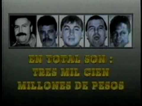 Recompensa de Pablo Escobar