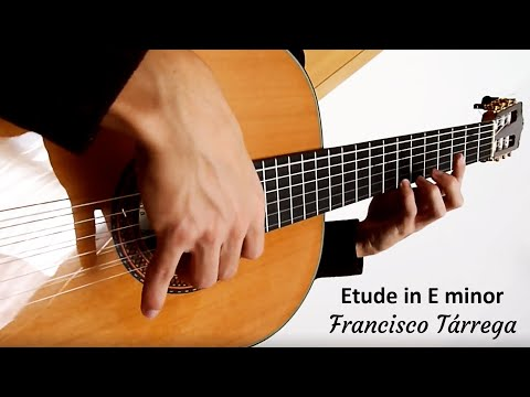 Francisco Tarrega - Etude In E Minor