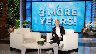 Ellen's Huge Renewal Announcement