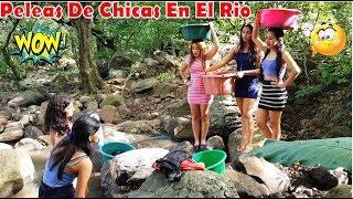 -Las Vecinas Chismosas Peleando Por Unas  Piedras //Tremenda Discusiones EnEl Rio-