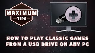 How to play classic games from a usb drive on any computer