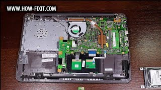 Обзор и вскрытие ноутбука Asus X556UQ-DM537D