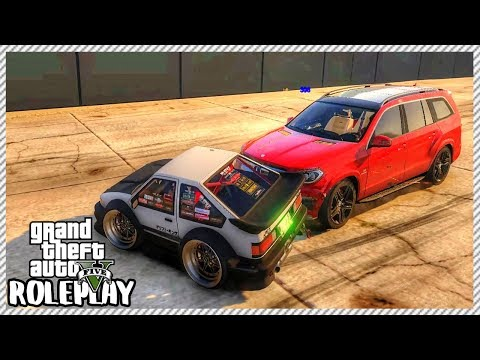GTA 5 Roleplay - Crazy Driver Wrecked my 1,000,000 Million Car  RedlineRP 96
