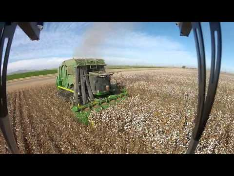YS-X6 Testing Cotton Harvest Highlights near Blythe CA.mp4