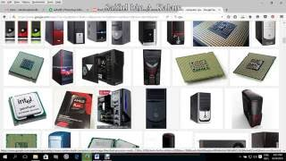 Computer parts introduction and image preview Bangla tutorial