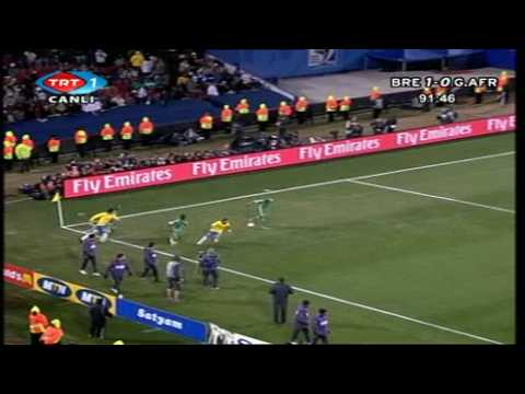 Brazil vs South Africa FIFA Confederations Cup 2009 Semi finals-2half-5