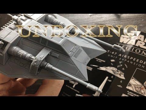 Legion - T-47 Airspeeder Unboxing