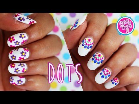 Puros puntitos para las uñas