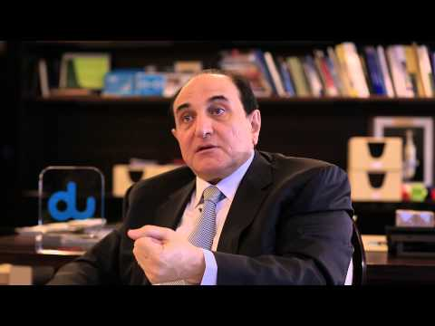 """Osman Sultan - CEO of Emirates Integrated Telecommunications Company """"du"""