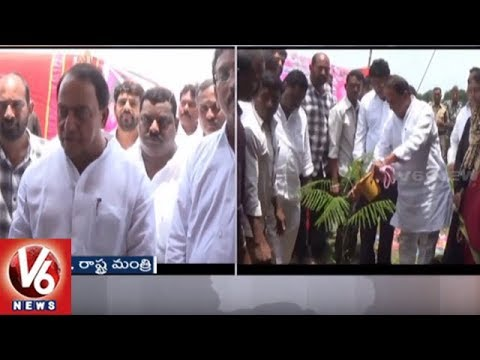Minister Indrakaran Reddy Visits Nirmal Dist, Launches Several Development Works | V6 News