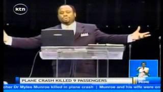 Kenyans join world to mourn death of American televangelist Dr. Myles Munroe
