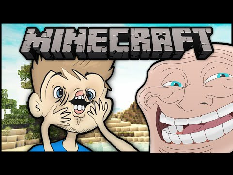 Minecraft: Trolling an 11 Year Old Fanboy Pt. 2