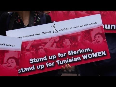 Tunisia police deny rape, accuse