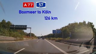 NL/D - A77/A57 Boxmeer to Köln - August 2019