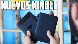 Amazon Kindle Voyage y nuevo Amazon Kindle Paperwhite
