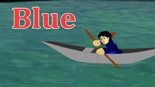 Blue Rhymes For Children 3D Animated Cartoons Rhymes Blue English Stories For Kids