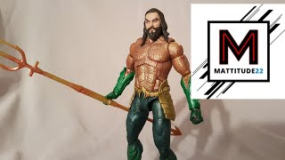 DC Multiverse Aquaman 2018 Moive Trench Warrior Collect And Connect Wave Mattel Figure Review