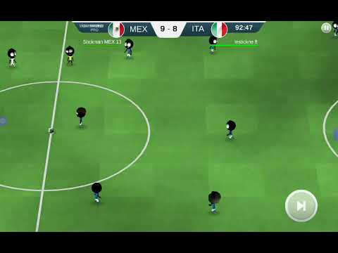 Stickman soccer 18 daily match extra time. Part 2.