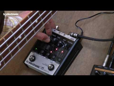 Bass through Nova Repeater and Nova Drive, It works great too!