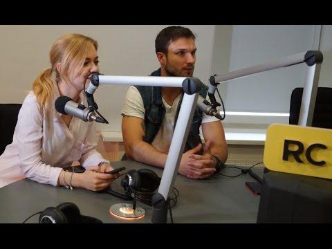 """Laidoje """"Po ketvirtos"""" Monika ir Vaidas laikė Eurovizinių žinių egzaminą."""