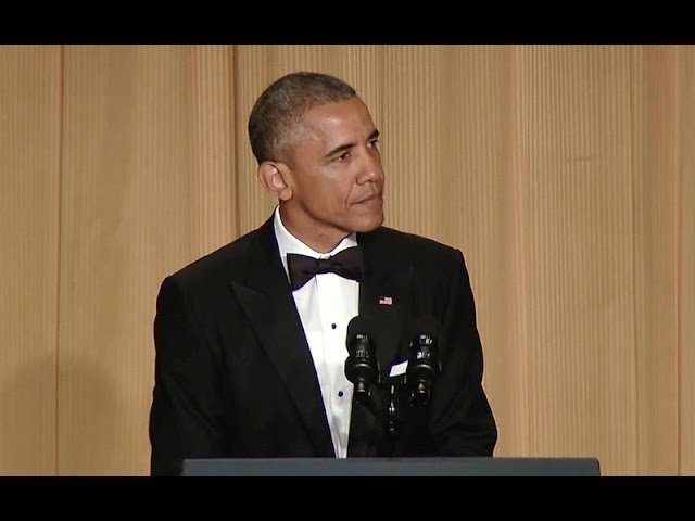 President Obama at White House Correspondents' Dinner