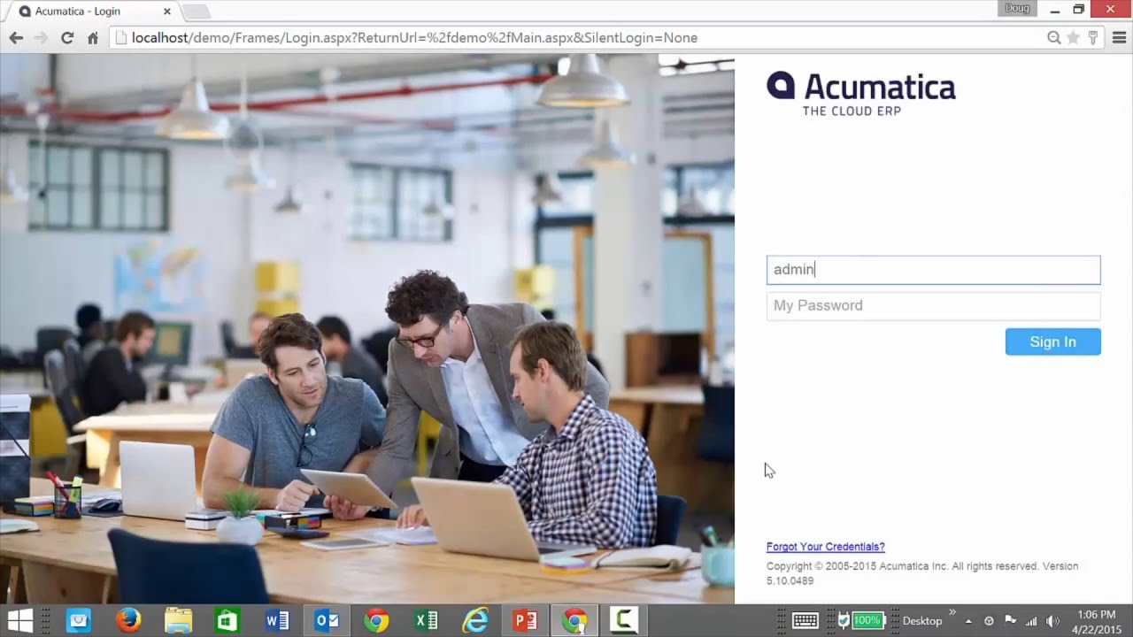 Acumatica Reporting Tools Detailed Demo