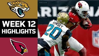 Jaguars vs. Cardinals | NFL Week 12 Game Highlights
