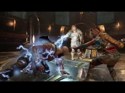 GOD OF WAR 4 - Atreus Transforms To Spartan Rage (God of War 2018) PS4 Pro
